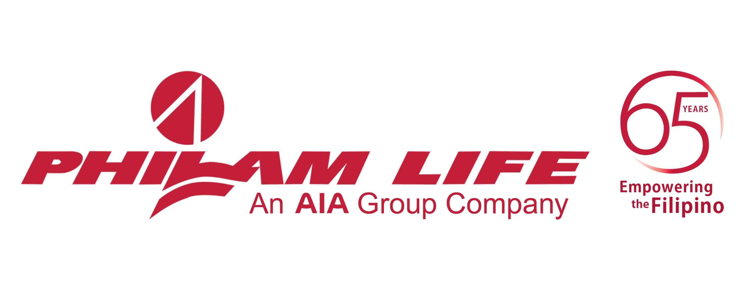 Philam Life Logo with 65 years copy